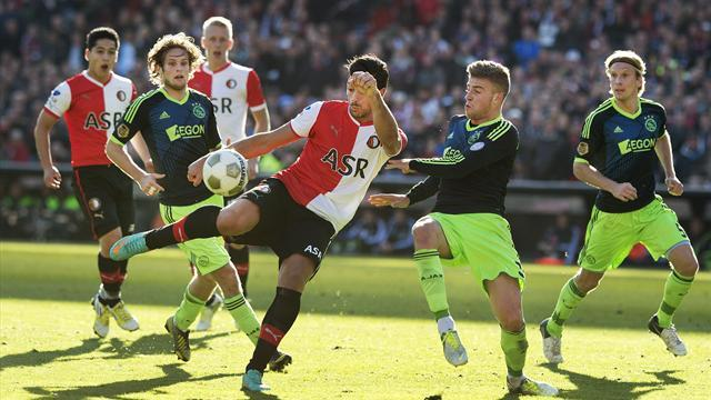 World Football - Pelle's late strike earns Feyenoord a point in Ajax clash
