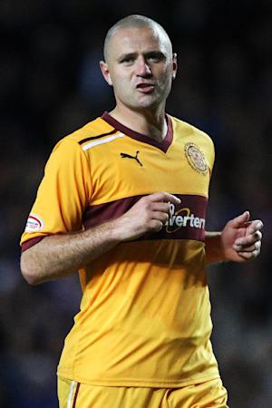 Michael Higdon's goal earned Motherwell a point