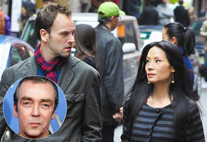 Elementary; John Hannah inset | Photo Credits: John P. Filo/CBS; Getty Images