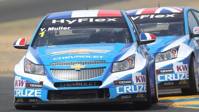WTCC - RML Chevrolets for Muller and Chilton