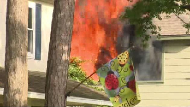Firefighter suffers minor injury while battling house fire in Champions area