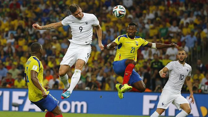 World Cup - Ecuador eliminated after goalless draw with France