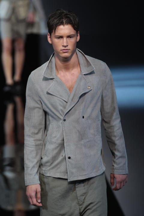 Emporio Armani: Runway - Milan Fashion Week Menswear Spring/Summer 2013