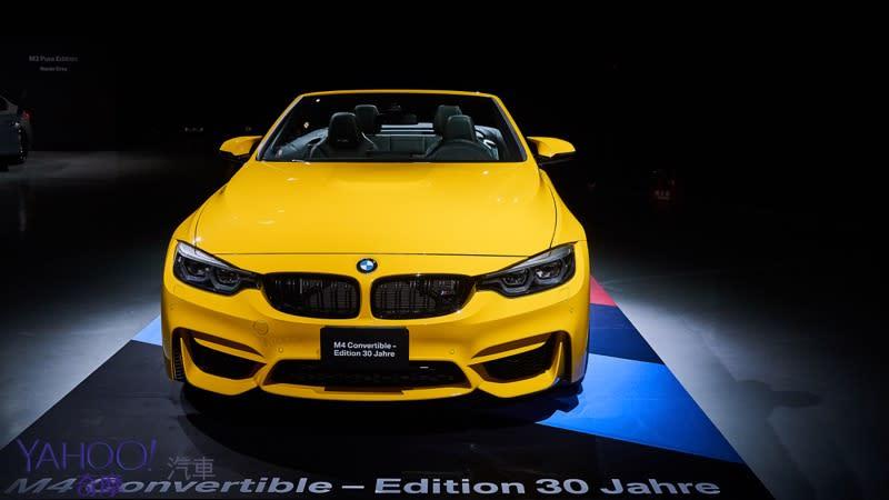 【新車圖輯】M字敞篷30年...以經典致敬經典BMW M4 Convertible - Edition 30 Jahre限時鑑賞!