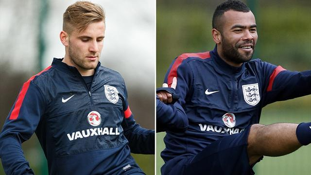World Cup - Hodgson: Shaw, Cole battling for second left-back spot