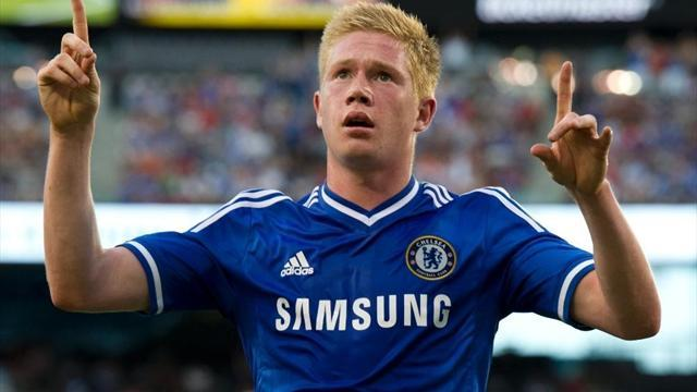 Football - Kevin De Bruyne leaves Chelsea for Wolfsburg