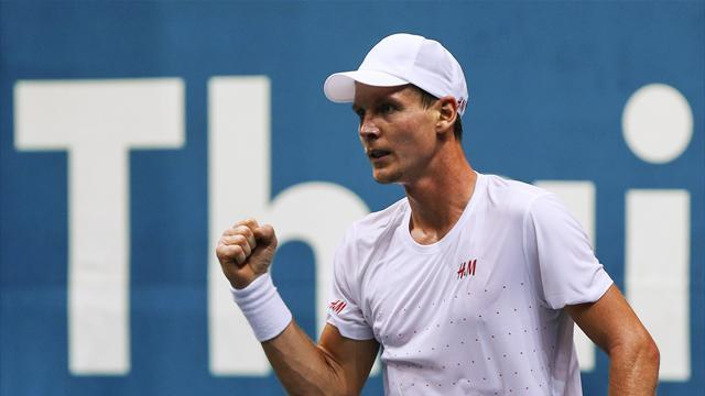 Tennis - Berdych eyes first title of 2013 in Bangkok