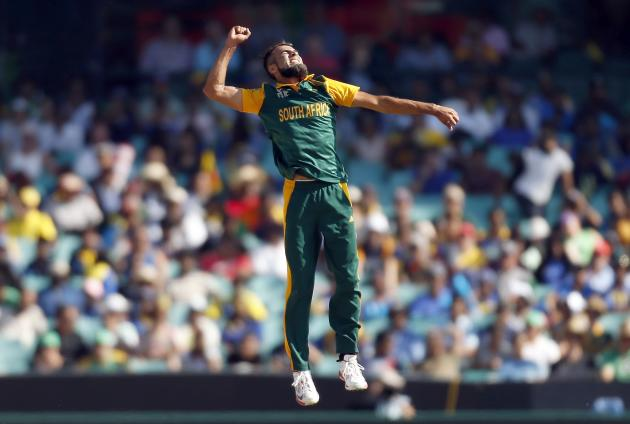 d5569e5fb68 ICC Cricket World Cup 2015  Match 42  QF1  Hat-Trick Duminy   Imran Tahir  bowl Sri Lanka out of World Cup