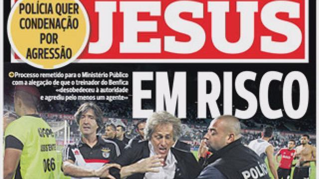 European Football - Euro Papers: The Benfica boss fought the law...