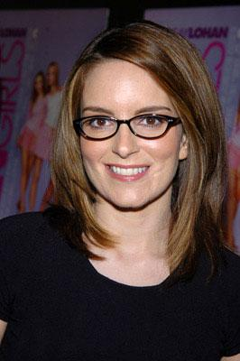 Premiere: Tina Fey at the New York premiere of Paramount's Mean Girls - 4/23/2004