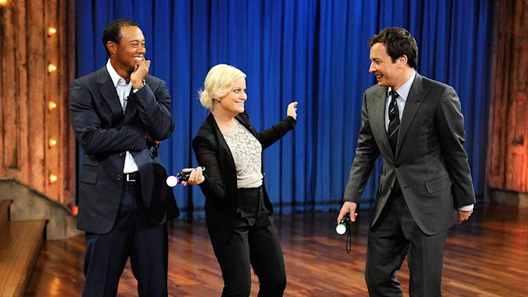 Woods Poehler Fallon Jimmy Fallon Show