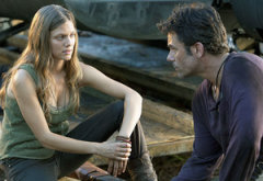 Tracy Spiridakos and Billy Burke | Photo Credits: John Domoney/NBC