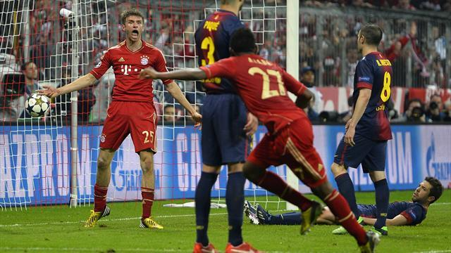 Champions League - Brilliant Bayern demolish Barcelona