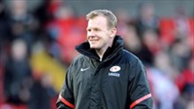 Rugby - McCall pleased with Sarries display