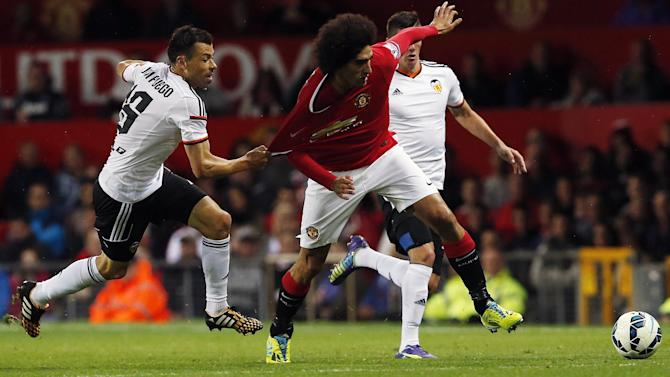 Friendly match - Fellaini fires United to win over Valencia