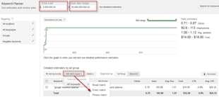 How to Get Phrase & Broad Match Traffic Data Back from Google Keyword Planner image adwords traffic estimator