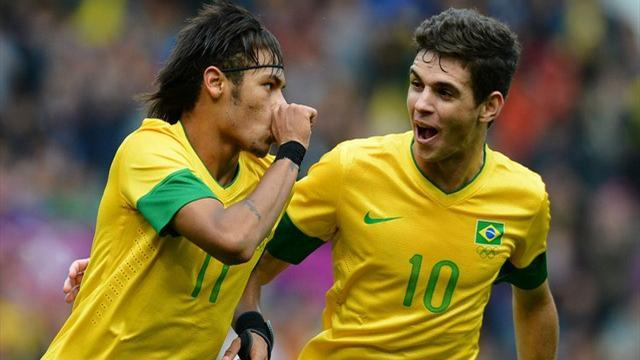 World Cup - Neymar goes up against Falcao on international Wednesday