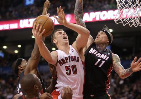 NBA: Miami Heat at Toronto Raptors
