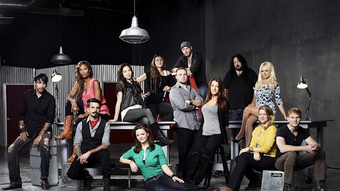 "The Season 2 cast of ""Face Off."""