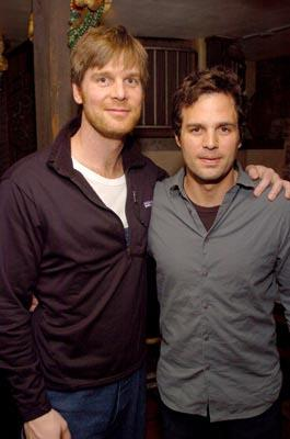 """Peter Krause and Mark Ruffalo """"We Don't Live Here Anymore"""" - 1/19/2004 Sundance Film Festival"""