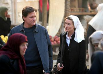 Bill Pullman and Natascha McElhone NBC's Revelations