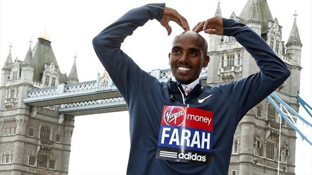 Athletics - Why has Mo Farah got two waxworks?