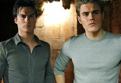 Ian Somerhalder, Paul Wesley | Photo Credits: Quantrell Colbert/The CW