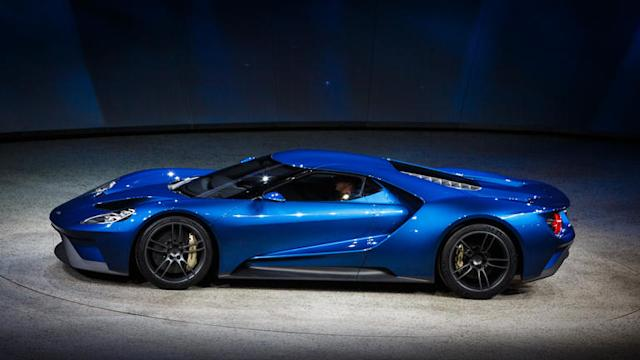 Exclusive look at the 2016 Ford GT