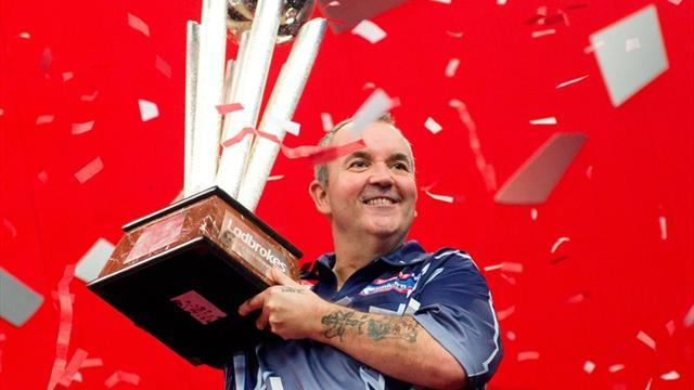 Darts - Phil Taylor wins 16th world darts title
