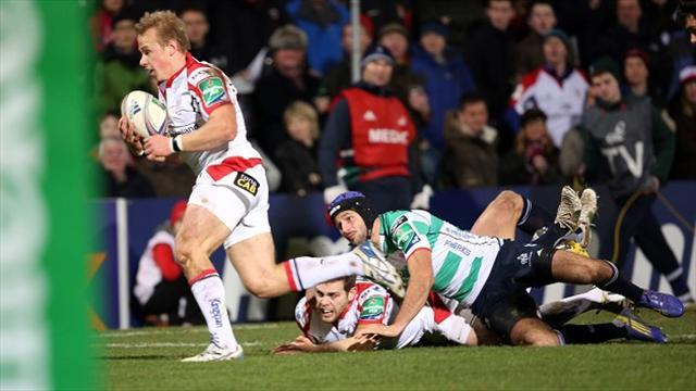 Rugby - Ulster win puts pressure on Tigers