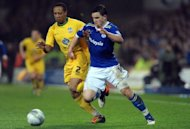 Cardiff City's Craig Conway competes with Crystal Palace's Nathaniel Clyne (left) during the League Cup semi final match at the Cardiff City Stadium, January 2012. Premier League new-boys Southampton signed Clyne from Crystal Palace