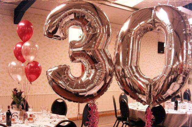 30th Balloons