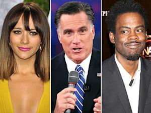 "Mitt Romney's ""Binders Full of Women"" Comment: Celebs React"