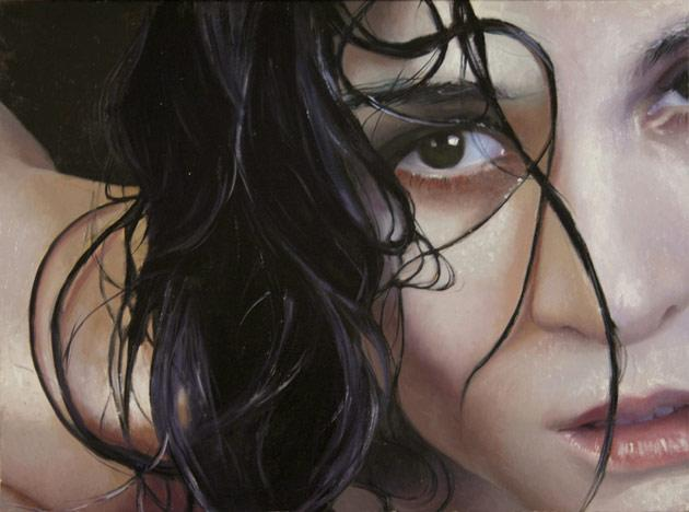 Photorealistic Paintings of Alyssa Monks