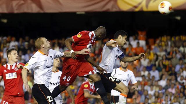 Europa League - Mbia hails 'best day' after dramatic winner