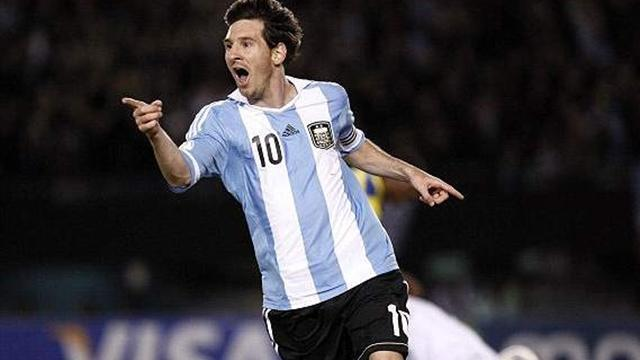 Lionel Messi inspires Argentina to 3-0 win over Uruguay