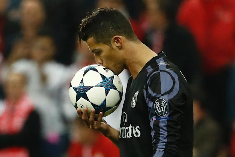 Real Madrid forward Cristiano Ronaldo is the world's highest paid athlete, according to Forbes magazine