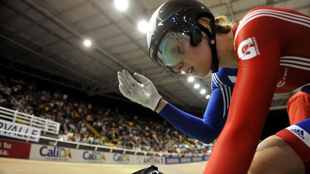 Rebecca James settles for sprint silver in Cali