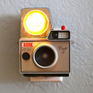 Vintage Camera Nightlight