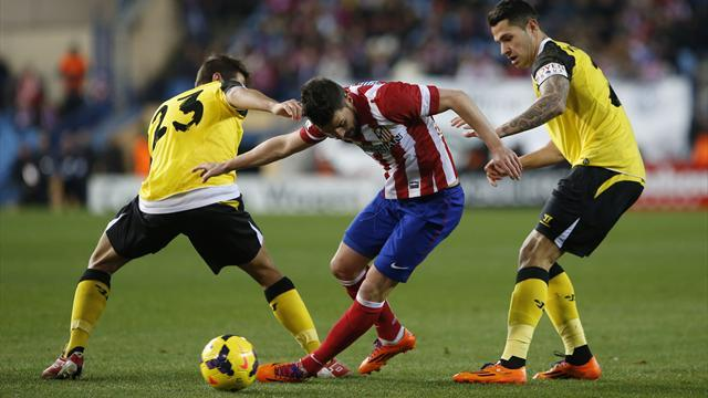 Liga - Atlético miss chance to move top after draw with Sevilla