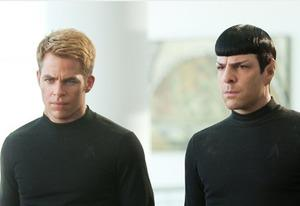 Zachary Quinto, Chris Pine | Photo Credits: Paramount Pictures