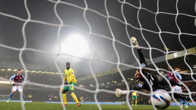 Norwich City v Aston Villa - Capital One Cup Quarter-Final