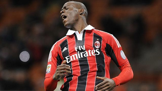 Serie A - Galliani hails hero Balotelli