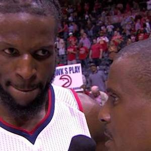DeMarre Carroll Postgame Interview
