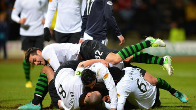 Football - Win stretches Celtic lead