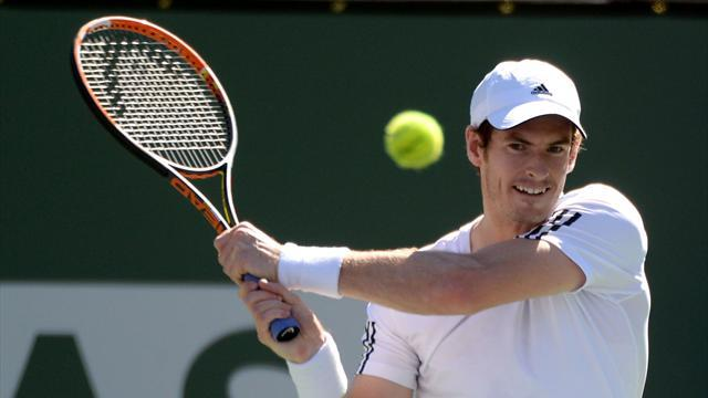 Tennis - Raonic dumps Murray out at Indian Wells