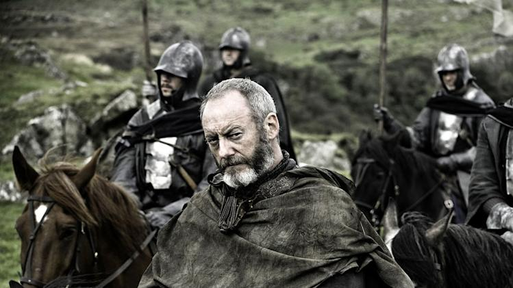 "Liam Cunningham as Davos Seaworth in ""Game of Thrones."""