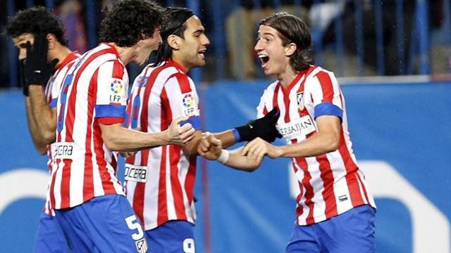 Spanish Liga - Atletico coast past Zaragoza