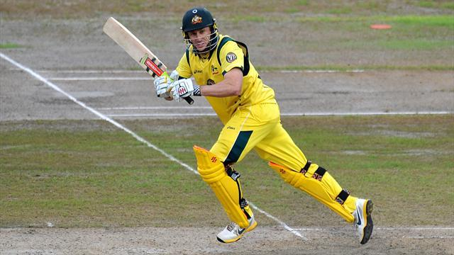 Cricket - Hussey keen to turn corner