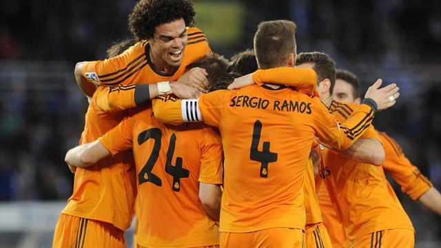 Liga - Bale scores as Madrid shrug off Ronaldo absence